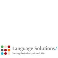 Language Solutions. Serving the industry since 1996. www.language-solutions.eu